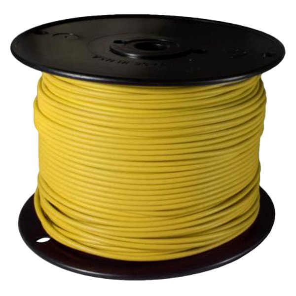 Audiopipe Ap16500yw 16 Gauge 500Ft Primary Wire Yellow