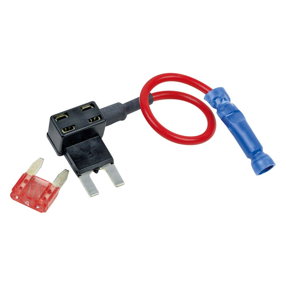 Add A Fuse Mini Block And Schematic Diagrams Addacircuit Standard Blade Holder 12 Volt Planet Battery Doctor U00ae 30103 Tapa Circuit For Atm Blocks Napa Autozone Tap