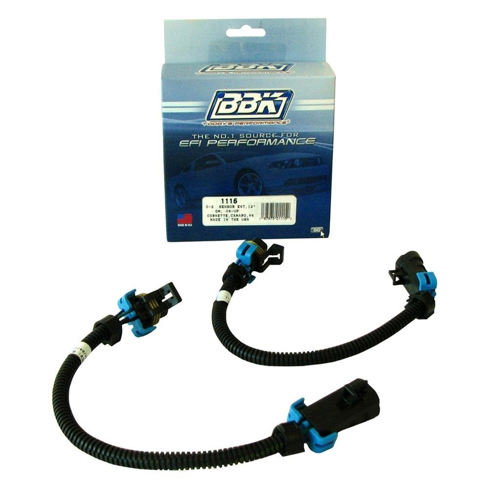 bbk 174 chevy camaro 2011 oxygen sensor wire harness extension kit