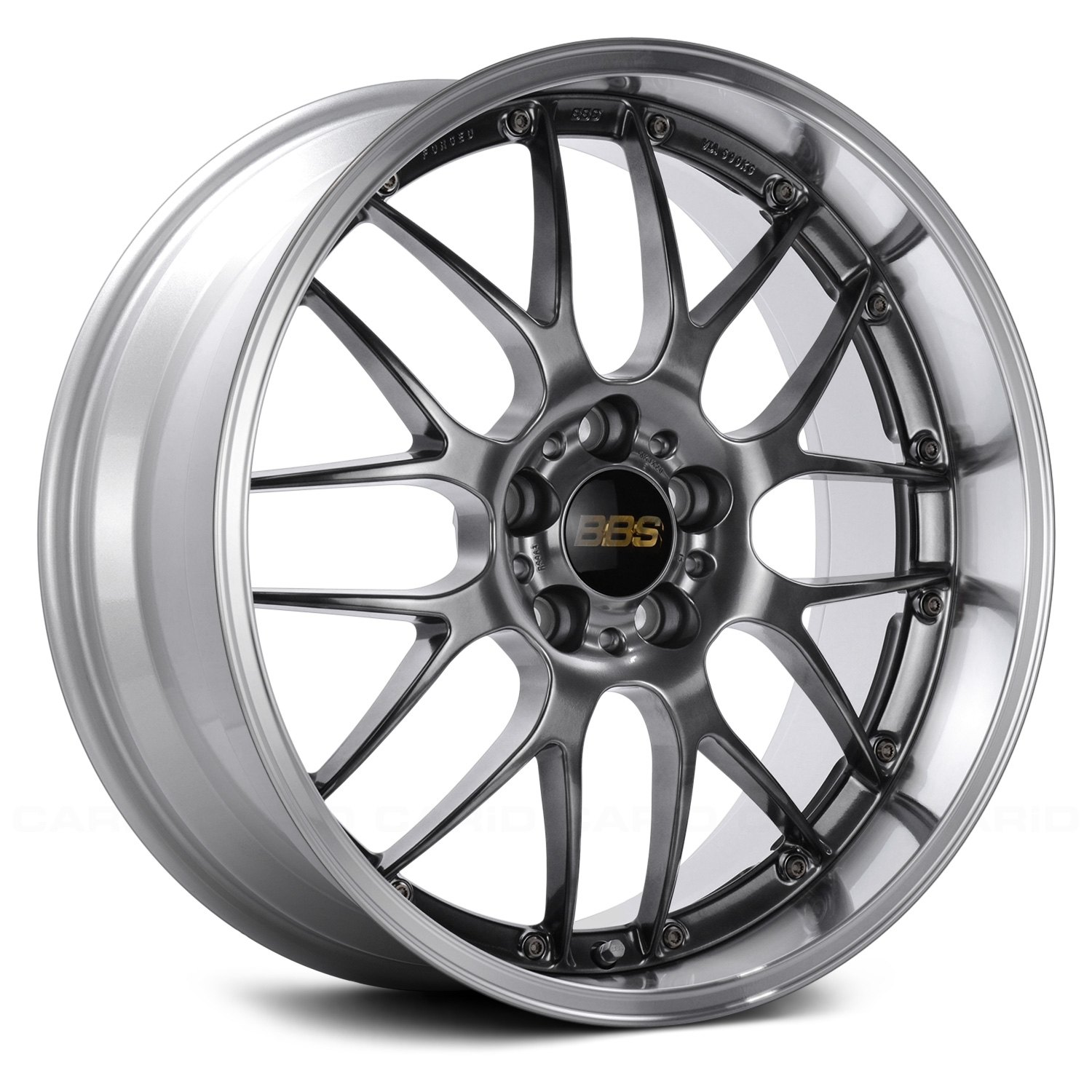 BBS® - RS Diamond Black with Dia-Cut Rim and Clear Coat