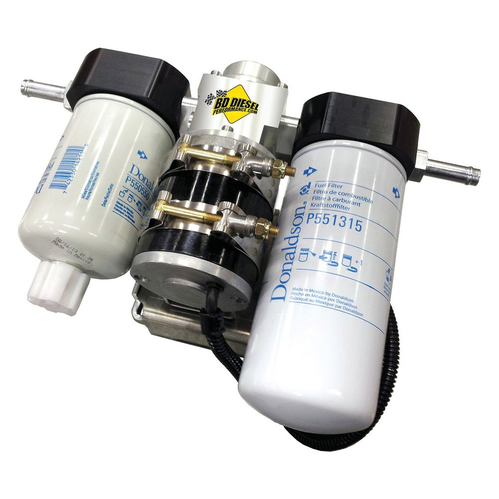 bd diesel performance® 1050340-pff - flow-max add-on post ... add on kit for duramax fuel filter #9