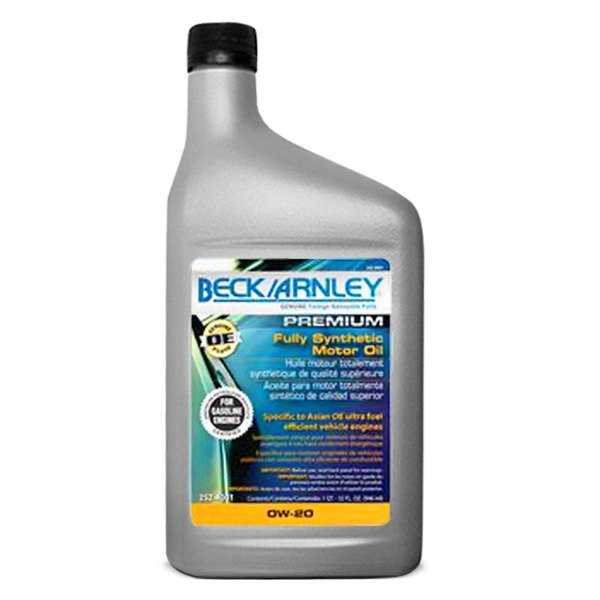 Beck Arnley Motor Oil