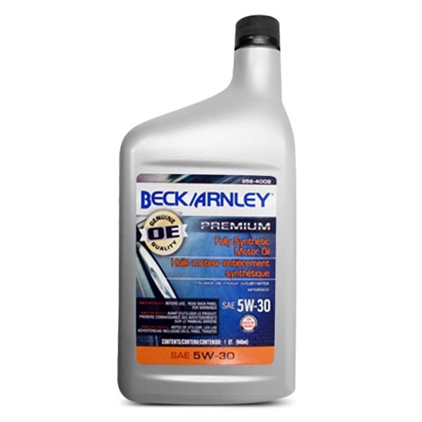 Beck arnley volkswagen jetta 2012 2014 fully synthetic Jetta motor oil