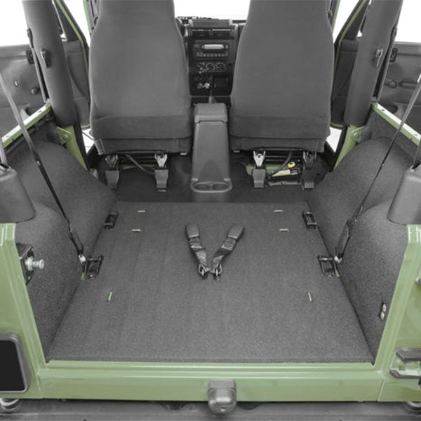 86c39f4b3e BedRug® - Jeep Wrangler TJ Body Code 2001 BedTred Replacement Carpet Kit