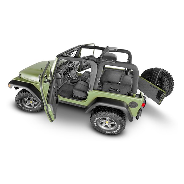 Jeep Wrangler 2016 BedTred Floor And Cargo Liner Kit
