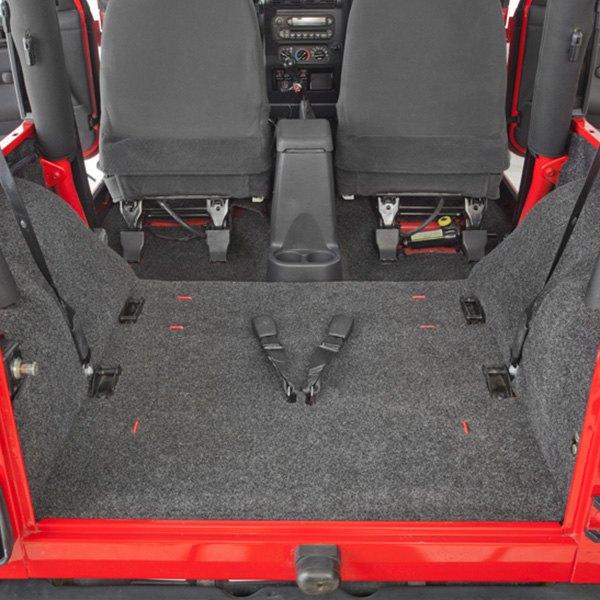 Jeep Wrangler 1997-2003 Floor And Cargo Liner Kit