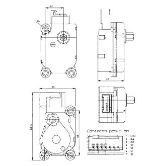 Behr® 0759.1642 - A/C Actuator Motor Flap