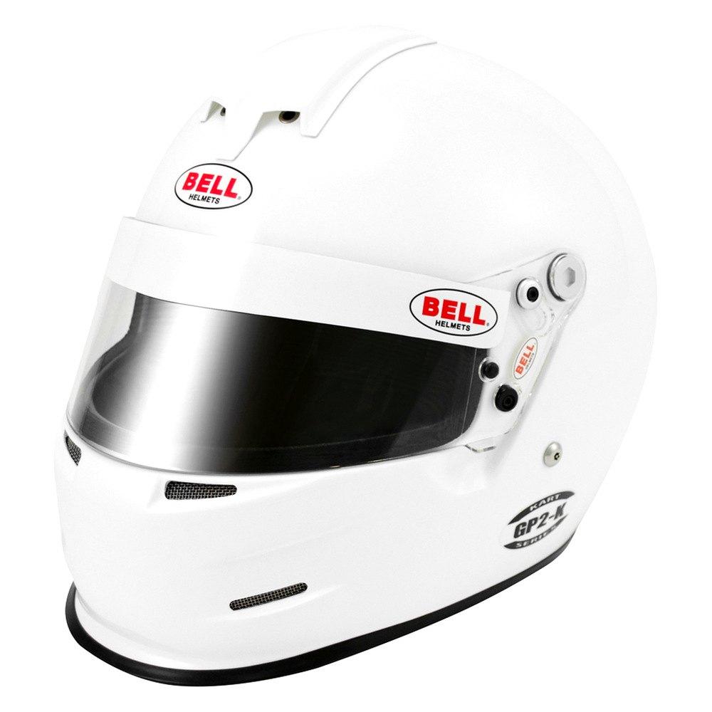 Bell Racing Helmets >> Bell Helmets® - GP.2 Kart Series Full Face Karting Helmet, White