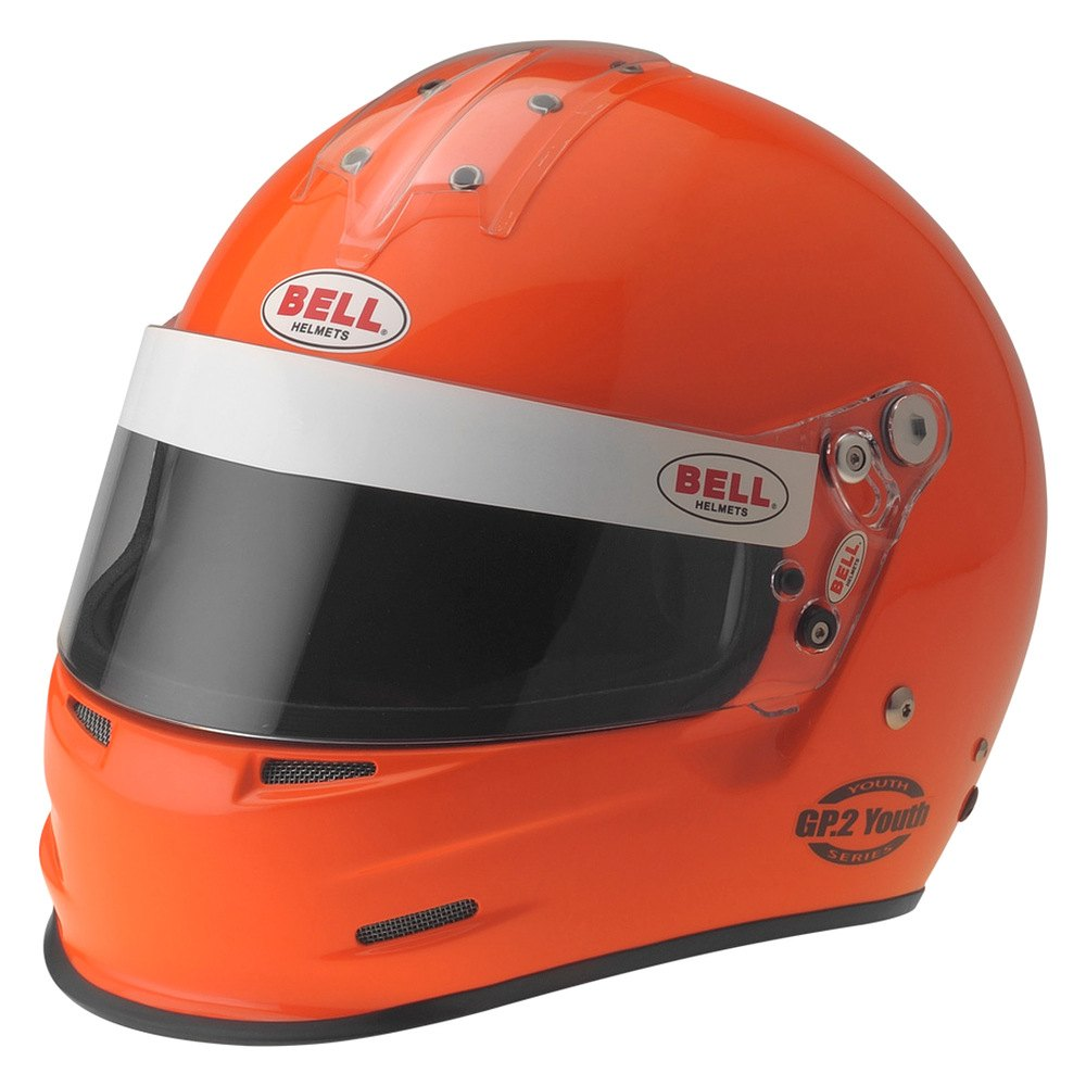 bell helmets gp 2 youth series full face racing helmet orange. Black Bedroom Furniture Sets. Home Design Ideas