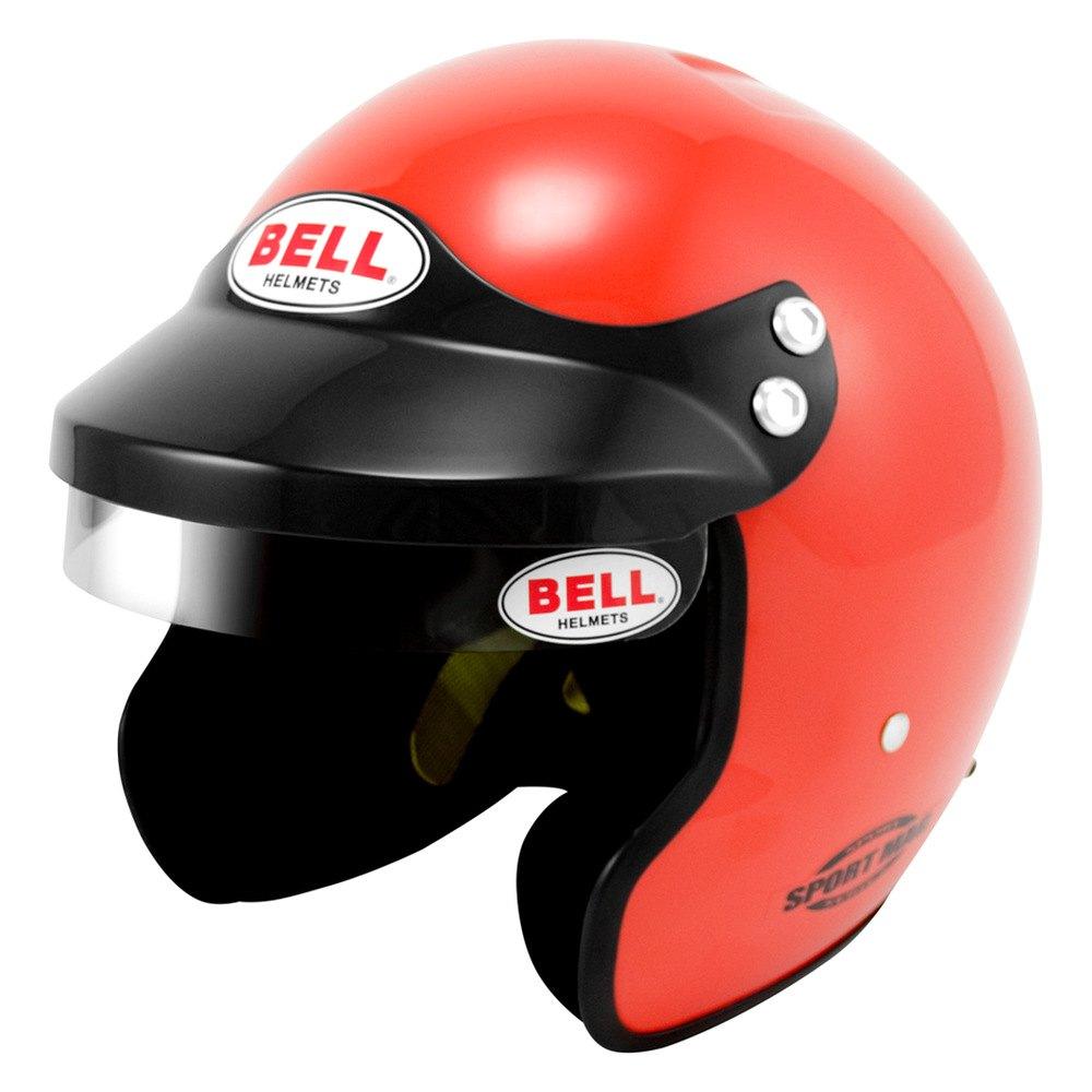 Racing Helmet Garage >> Bell Helmets® - Sport Mag Sport Series Open Face Racing Helmet, Orange