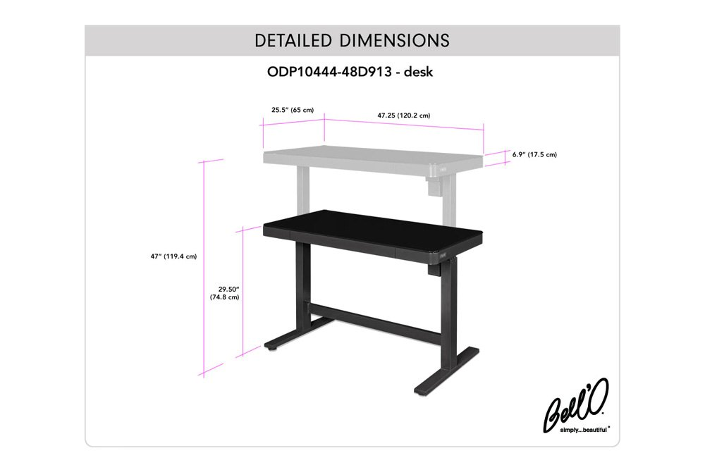 Omni Series Adjule Height Desk