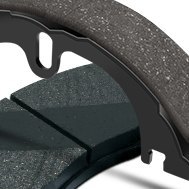Bendix® - Relined Parking Brake Shoes