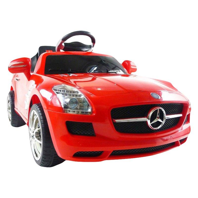 Best Ride On Cars® Mercedes SLS Red 6V - 6v Red Mercedes SLS