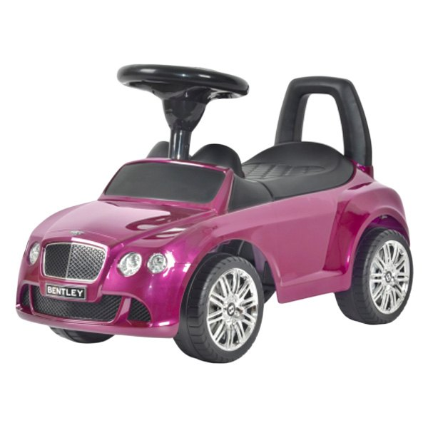 Best Ride On Cars® Bentley Push Car Azure Purple