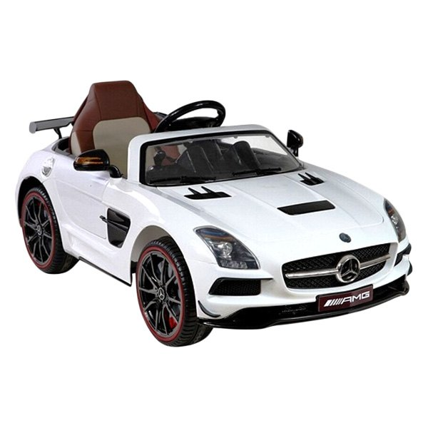 best ride on cars 12v mercedes sls amg black series electrical car. Black Bedroom Furniture Sets. Home Design Ideas