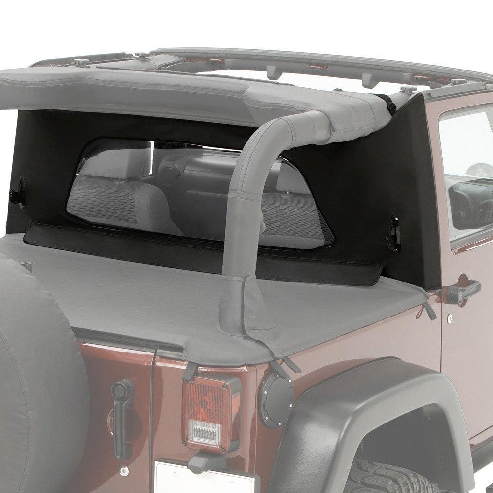 Wrangler Rear Window Wrap-around Rear Window