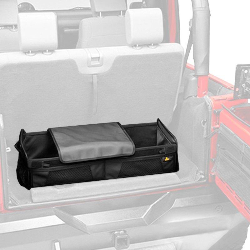 Jeep cargo storage organizers