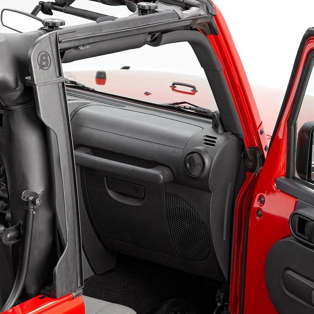 Bestop 174 Jeep Wrangler 2007 2017 Factory Door Surrounds Set