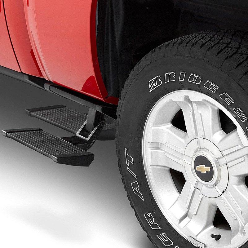 Bestop Powerboard Automatic Running Boards For Dodge Ram: TrekStep™ Retractable Textured Black
