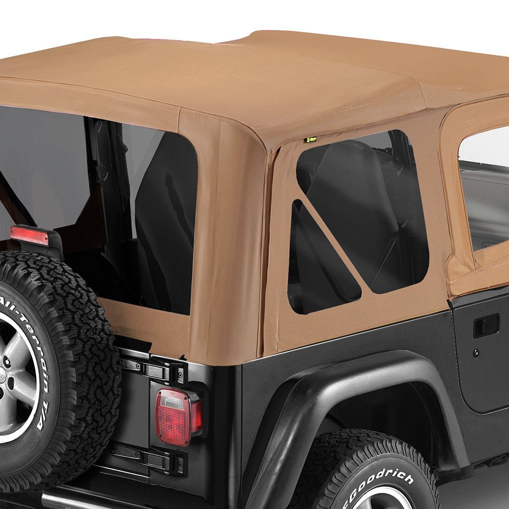 For Jeep Wrangler 97 02 Bestop 51127 37 Replace A Top Spice Fabric Only Soft  Top