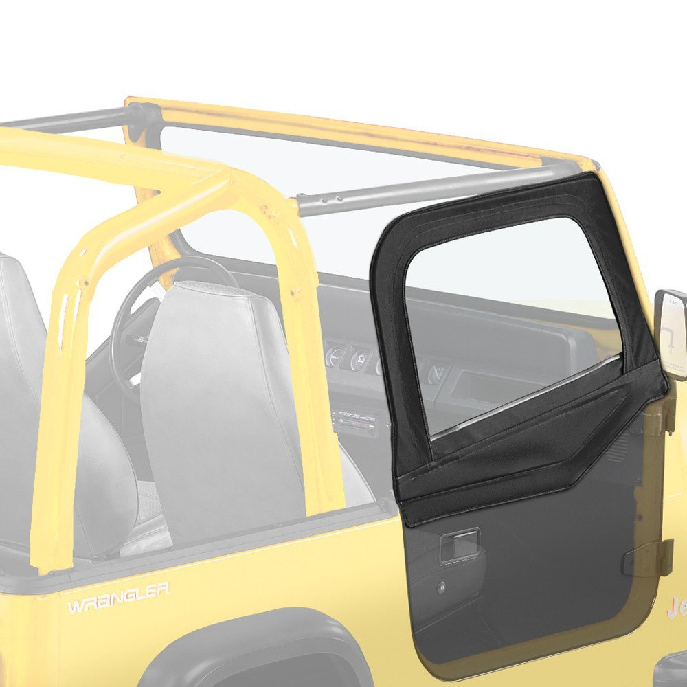Jeep Yj Soft Top Replacement Bow Kit 88 95 Jeep Wrangler: Bestop 51783-01 - Door Set Front