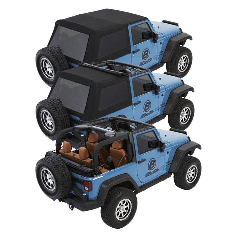 Trektop Nx Glide >> Bestop 54922 35 Trektop Nx Glide Black Diamond Convertible Soft Top