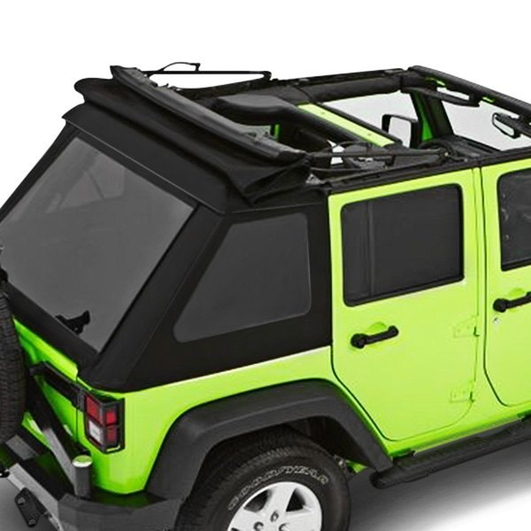 Trektop Nx Glide >> Details About For Jeep Wrangler Jk 18 Trektop Nx Glide Black Diamond Convertible Soft Top