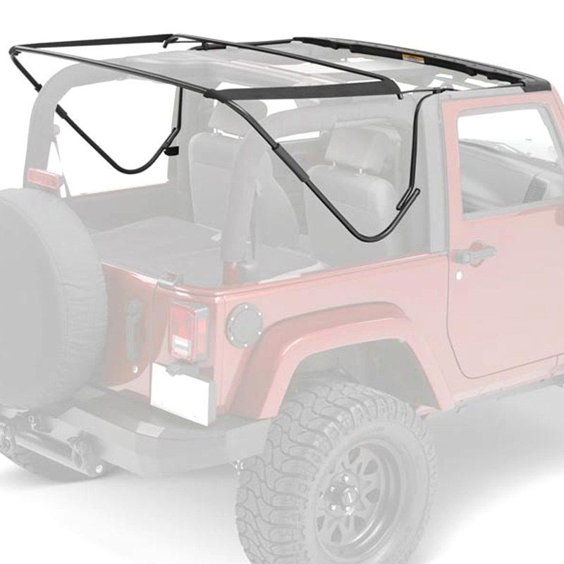 Jeep Yj Soft Top Replacement Bow Kit 88 95 Jeep Wrangler: Bestop 55000-01 - Replacement Bows And Frames Kit