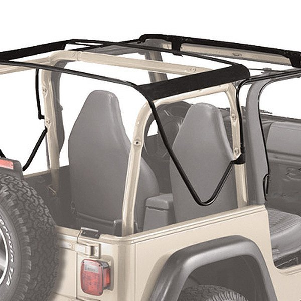 Jeep Yj Soft Top Replacement Bow Kit 88 95 Jeep Wrangler: Replacement Bows And Frames Kit