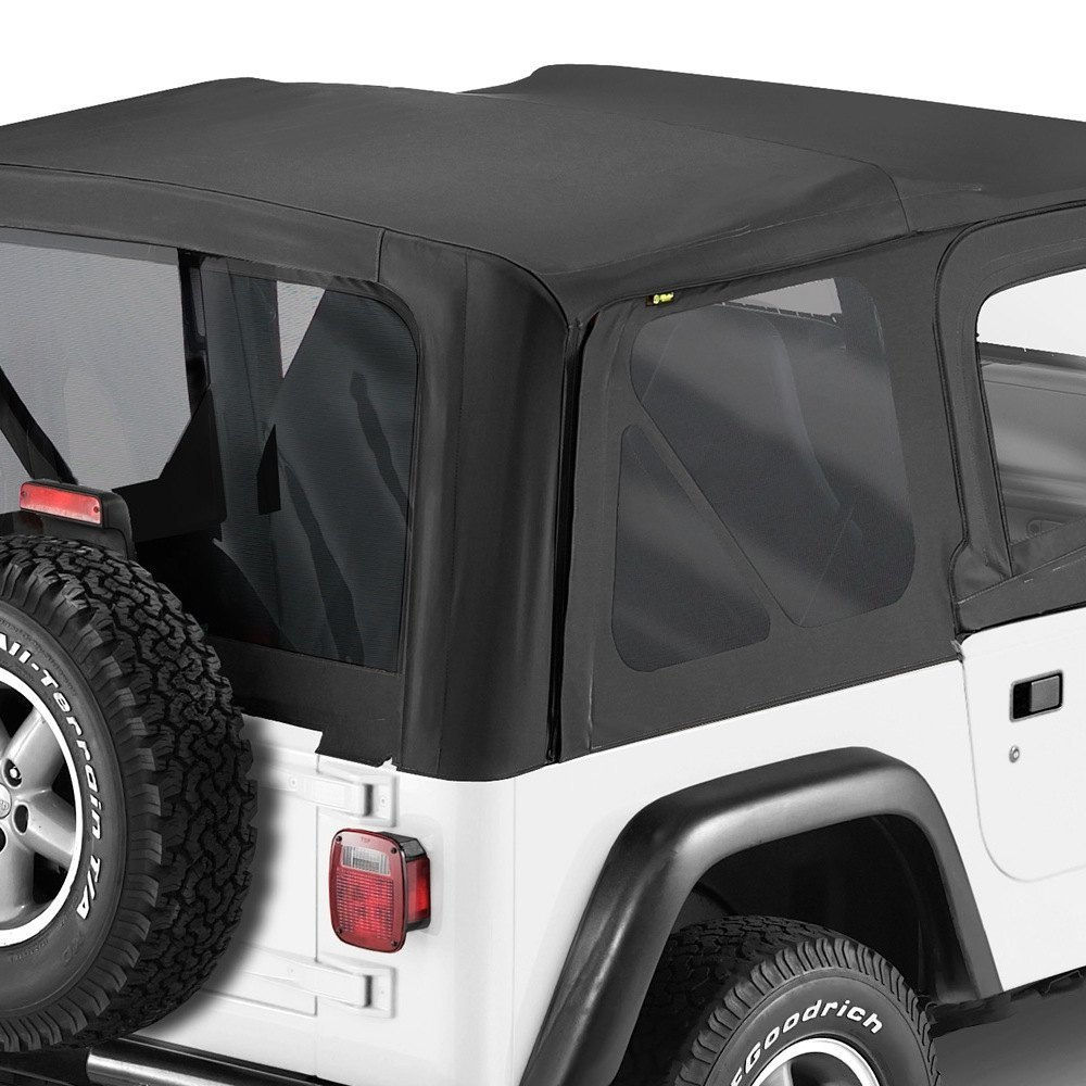 Best Top For Jeep: For Jeep Wrangler 03-06 Bestop Replace-a-Top Black Diamond