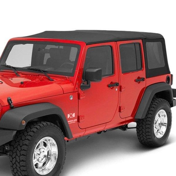 jeep wrangler 2010 2016 bestop 79847 17 replace a top black twill soft top ebay. Black Bedroom Furniture Sets. Home Design Ideas