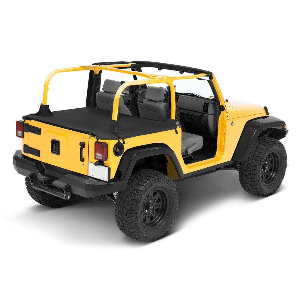 bestop jeep wrangler 2007 2017 duster deck cover. Black Bedroom Furniture Sets. Home Design Ideas