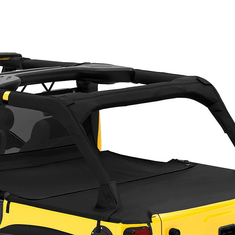 Details about For Jeep Wrangler JK 18 Bestop 90034-35 Duster Soft Roll Up  Deck Cover Extension