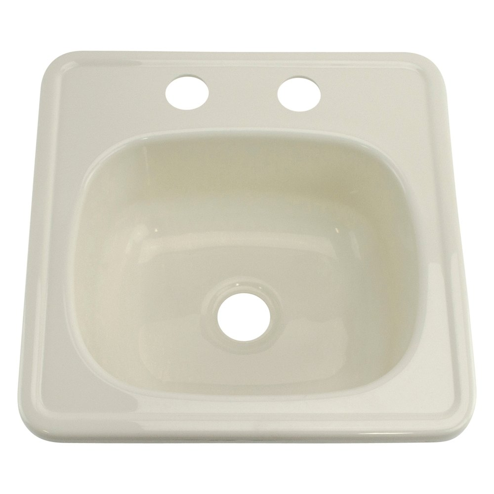 Better bath 209356 15 x 15 parchment square kitchen for The galley sink price