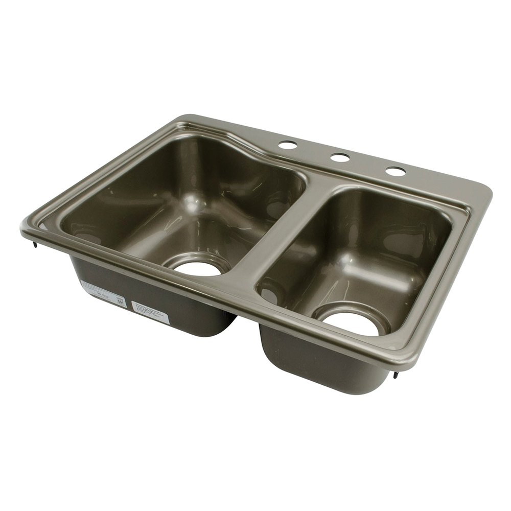 Better bath 209586 25 x 19 stainless steel double for The galley sink price