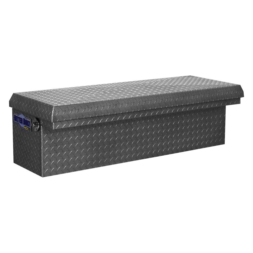 Low Profile Truck Bed Tool Box >> Better Built® - HD Series Low Profile Single Lid Side Mount Tool Box