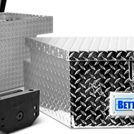 Better Built V-Shaped Utility Trailer Tongue Wide Tool Box