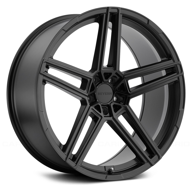 BEYERN® GERADE Wheels - Matte Black Rims - 1810BYG205120M72-I