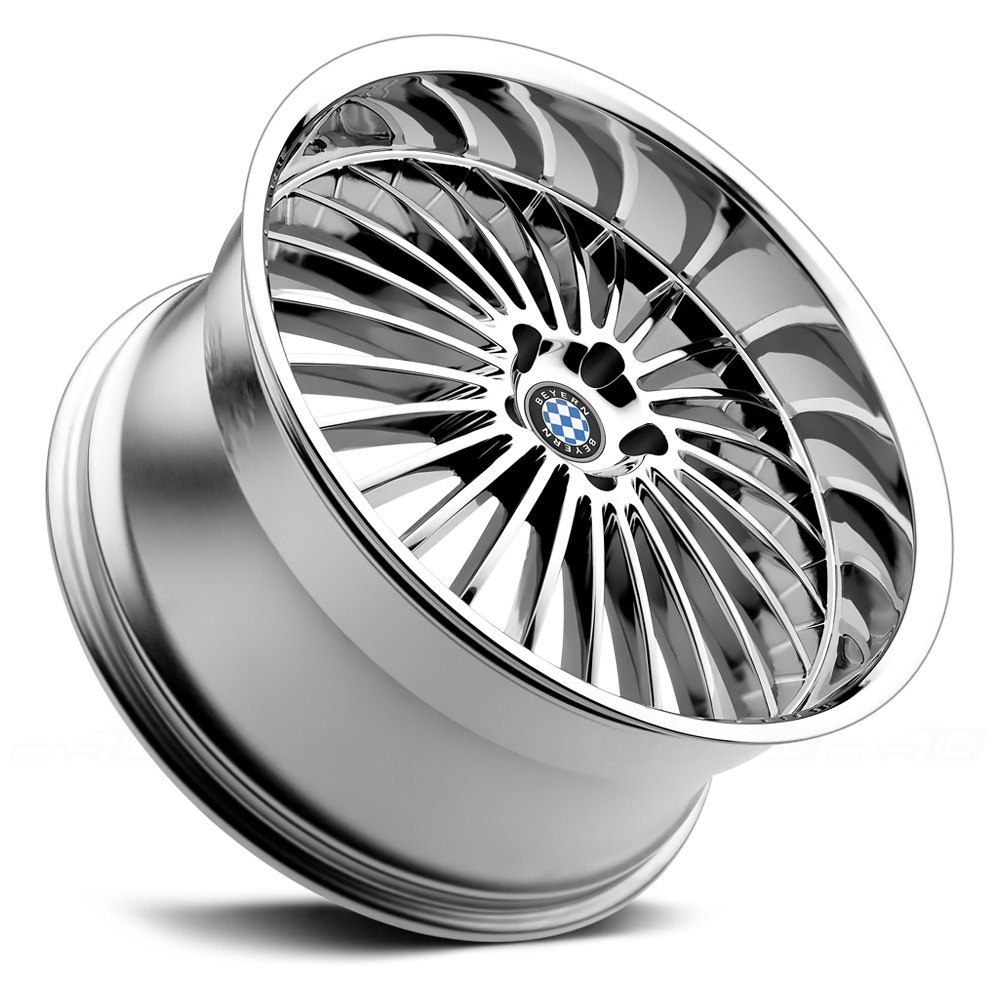 BEYERN® MULTI Wheels - Chrome Rims