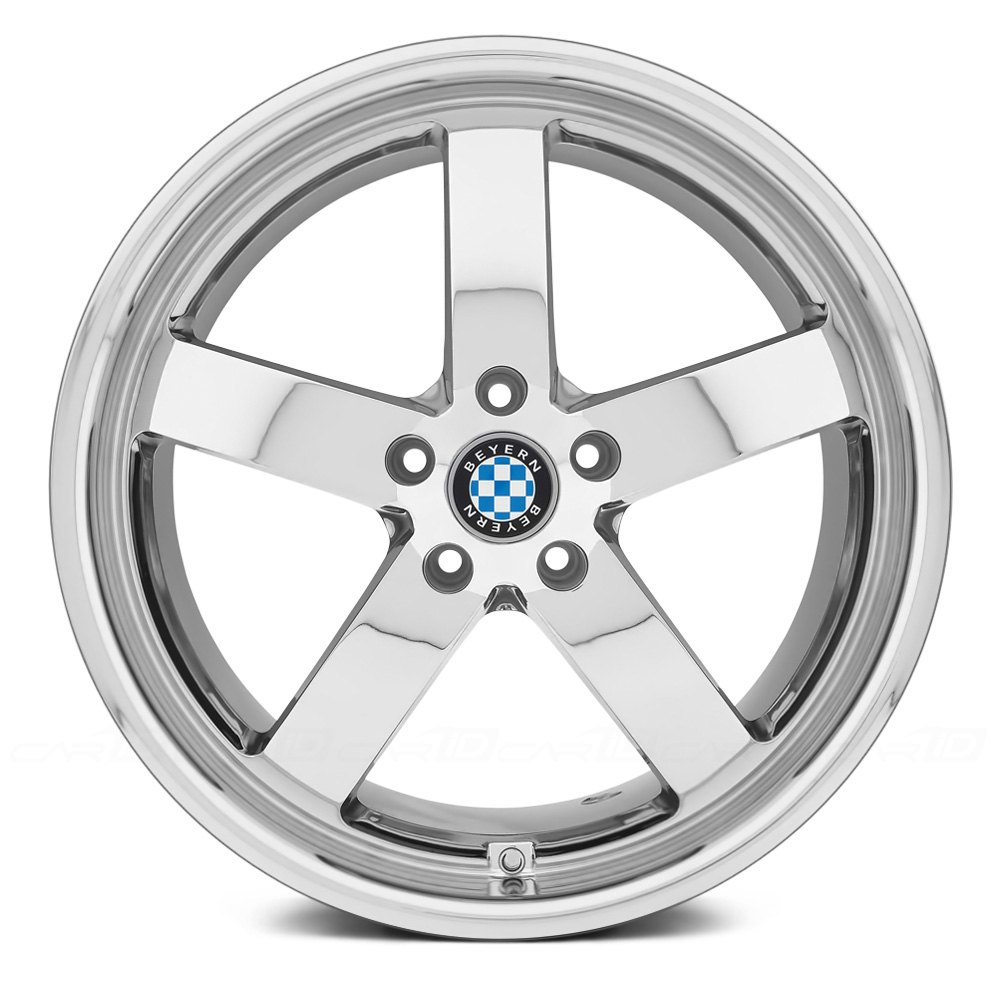 BEYERN® RAPP Wheels - Chrome Rims