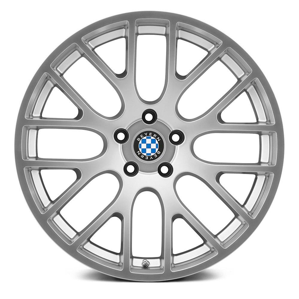Beyern 174 Spartan Wheels Silver Rims