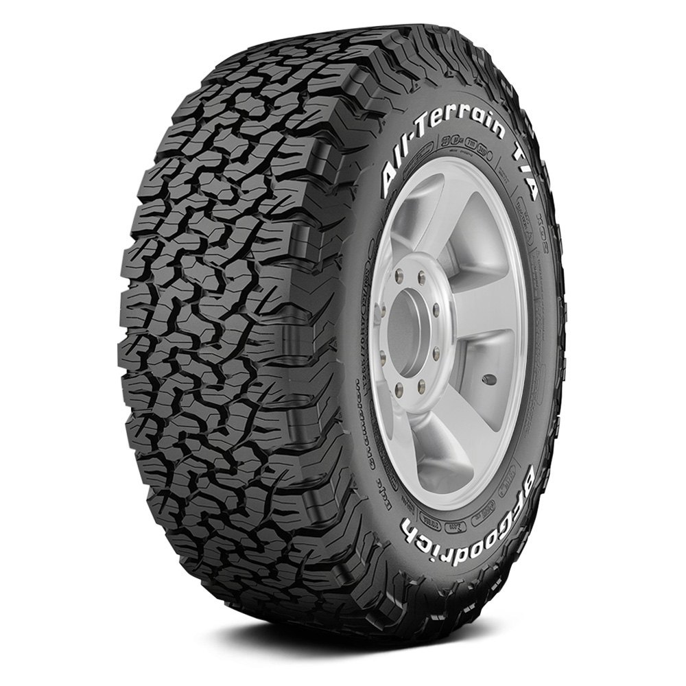 Bf Goodrich Truck Tires >> Bfgoodrich All Terrain T A Ko2 With White Lettering