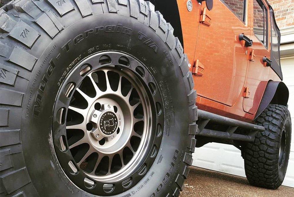 Bf Goodrich Mud Terrain Tires >> Bfgoodrich Mud Terrain T A Km2 Tires