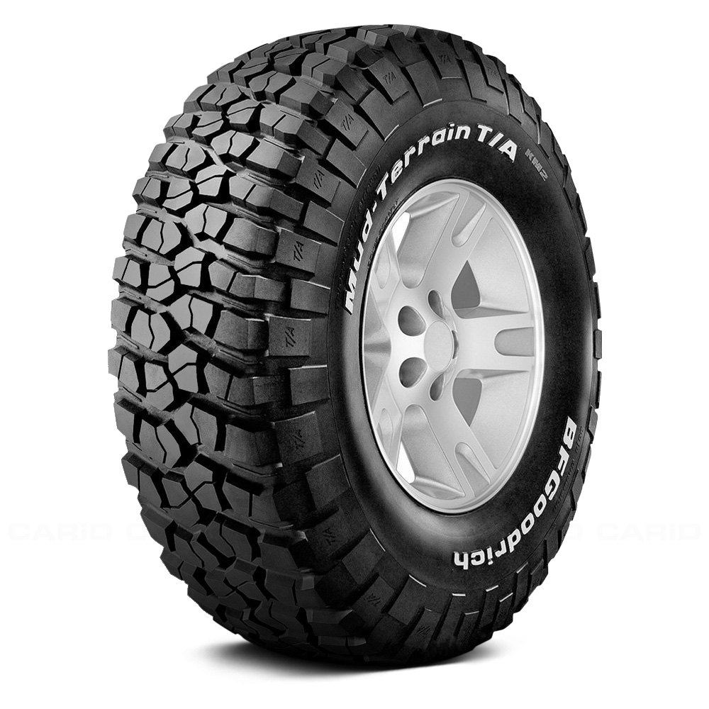 Bfgoodrich 12544 Mud Terrain T A Km2 With White Lettering Lt285