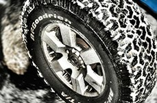 BFGOODRICH® - Off-Road T/A KO Tires on Car