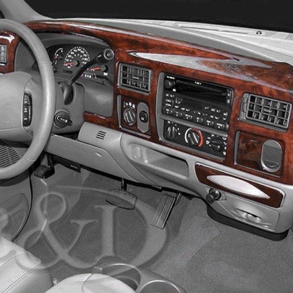 B I Ford Excursion 2000 2005 3d Molded Full Dash Kit