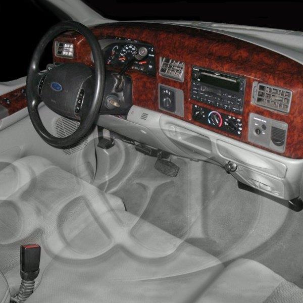1999 Ford F350 Lariat Super Duty Reviews >> B&I® - Ford F-250 / F-250 Super Duty Crew Cab 1999 Combo Small Dash Kit