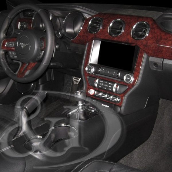 b i ford mustang dash panel with 3 vents 2015 combo medium dash kit. Black Bedroom Furniture Sets. Home Design Ideas