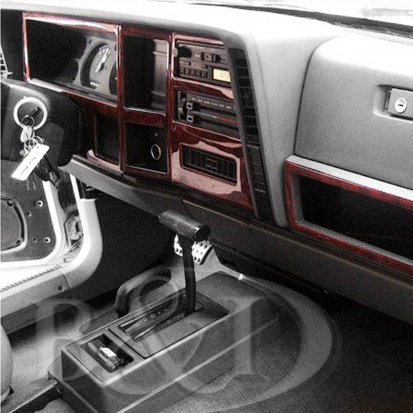 B i jeep cherokee 1984 2d large dash kit for Jeep cherokee interior accessories