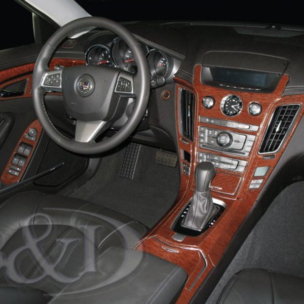 b i cadillac cts cts v 2013 2d small dash kit. Black Bedroom Furniture Sets. Home Design Ideas